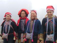 Hmong in Giang Ta Chai village