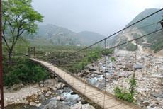 bridge in ta van village
