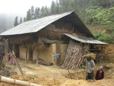 house in ban pho sapa