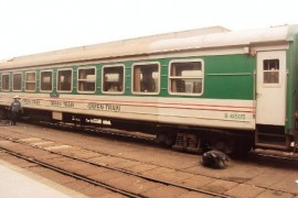 Green Express Train