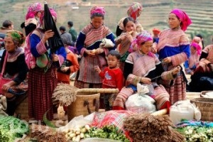 Bac Ha Market picture 2014