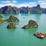 Diverse tropical ecosystems of Halong Bay