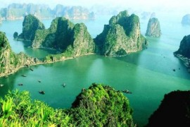 To avoid the crowd on Halong Bay, you can go to Bai Tu Long Bay