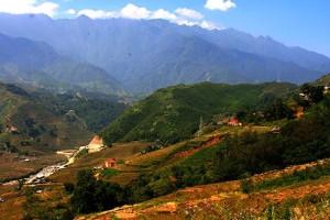 A little bit of a view, Sapa Travel