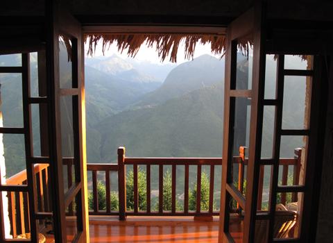 Balcony view, Topas Ecolodge