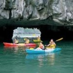 Detailed program for kayaking and trekking tour in Halong Bay