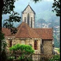 French church, Sapa. Sapa, Vietnam