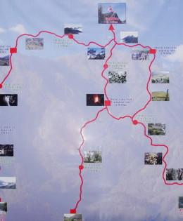 Fansipan Mount Map
