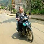Rent scooters in Sapa