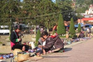 street market in sapa
