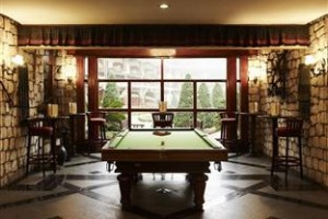 Billiard in the luxury resort
