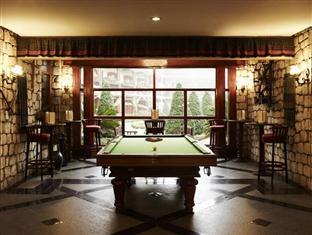 Billiard in the luxury resort
