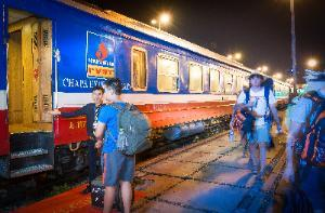 Outside-chapa express train Petrol Vietnam