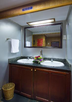 Toilet Chapa express train