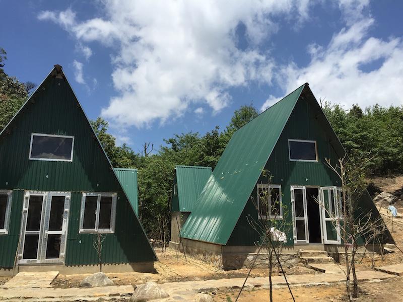 Fansipan-tent camp
