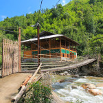 The village of Nam Cang in Sapa with home stay for travellers